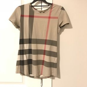 BURBERRY BRIT Check Shirt -Authentic